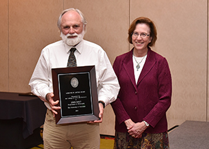 Nolt Honored at Annual Faculty Awards Banquet