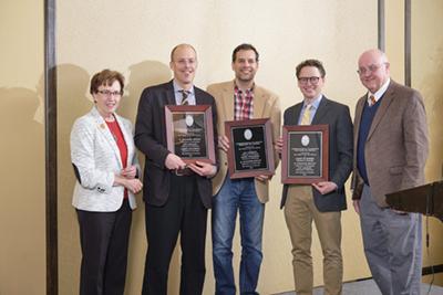 Garthoff Receives Collaborative Research Award